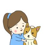 【日常絵日記】実家のおばあちゃん犬のこと。